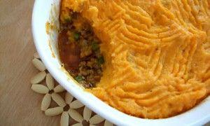 shepherd's pie....with sweet potatoes :) | Hi. I like food. Bye. | Pi ...
