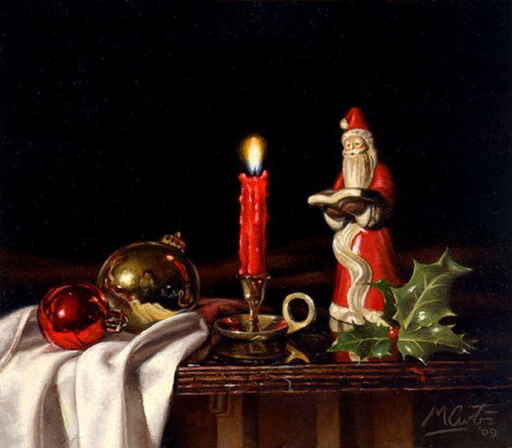 Matt Curtis  (b.1969)  —   Christmas Still Life, 2009  (800x700)