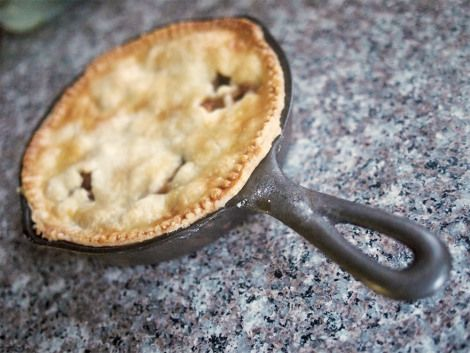 Husk Cherry Skillet Pie   Tasty Things   Pinterest