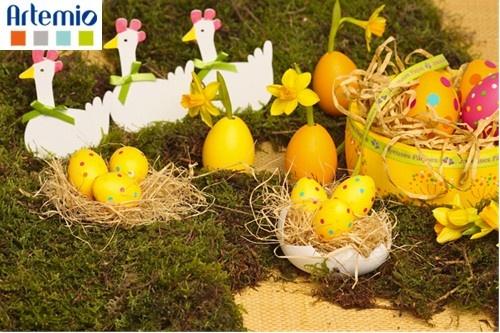 Décor de table  Pâques Easter  Pinterest