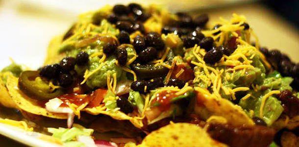 ... chicken and black bean salsa nachos super bowl chicken and black bean