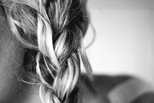 braid with highlights.