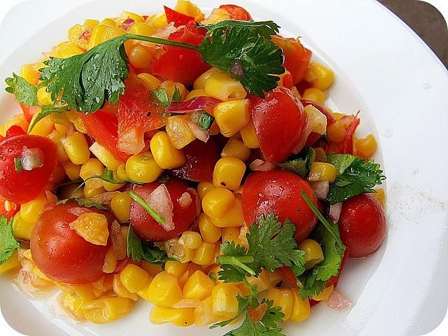 summer corn salad | Food- salads | Pinterest
