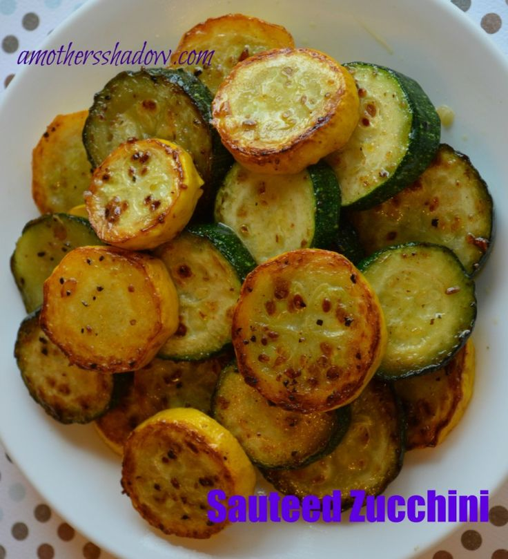 Tasty Tuesday: Sauteed Zucchini | Healthy Eating | Pinterest