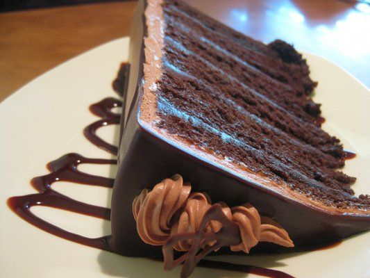 French Silk Chocolate Cake | Let them eat Cake | Pinterest