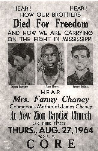 Slain civil rights workers found