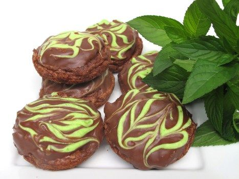 Chocolate Mint Truffle Brownie Bites | Favorite Recipes | Pinterest