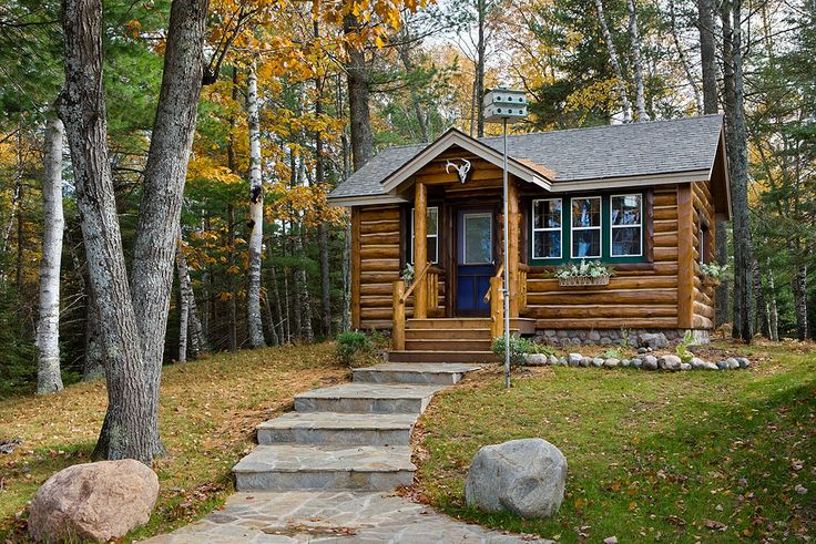 Small custom log homes joy studio design gallery best Custom cottage homes