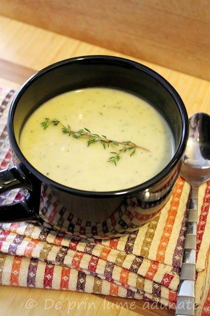 Supa Vichyssoise cu dovlecel/ Zucchini Vichyssoise