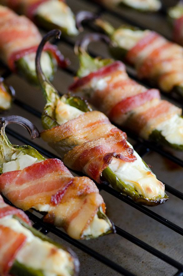 Bacon Wrapped Jalapeño Poppers with Cream Cheese - the ultimate ...