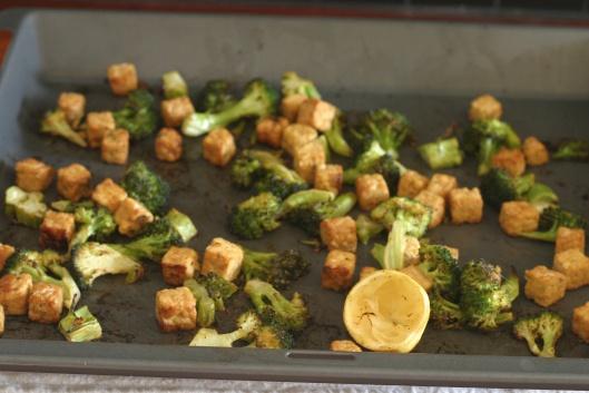 Lemon Roasted Tempeh and Broccoli | Tofu & Tempeh | Pinterest