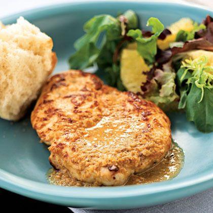 Sesame-Orange Chicken by Cooking Light | Asian Recipes | Pinterest