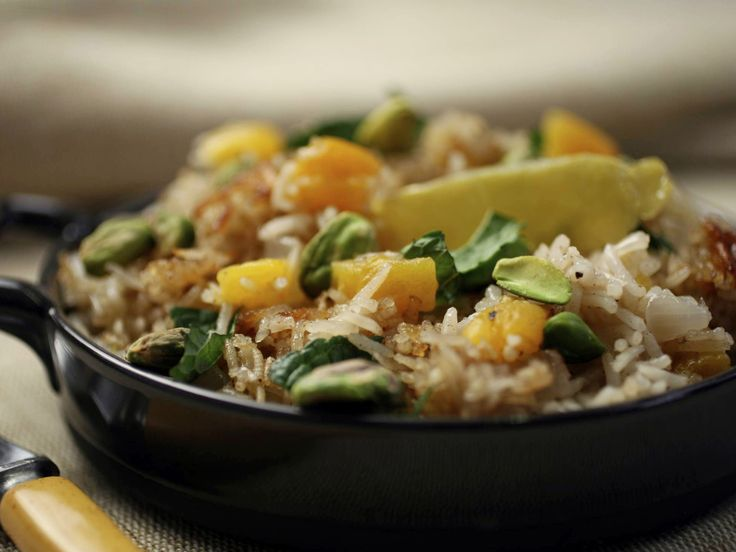 Basmati Rice Pilaf with Apricots Recipe : Food Network Kitchen : Food ...
