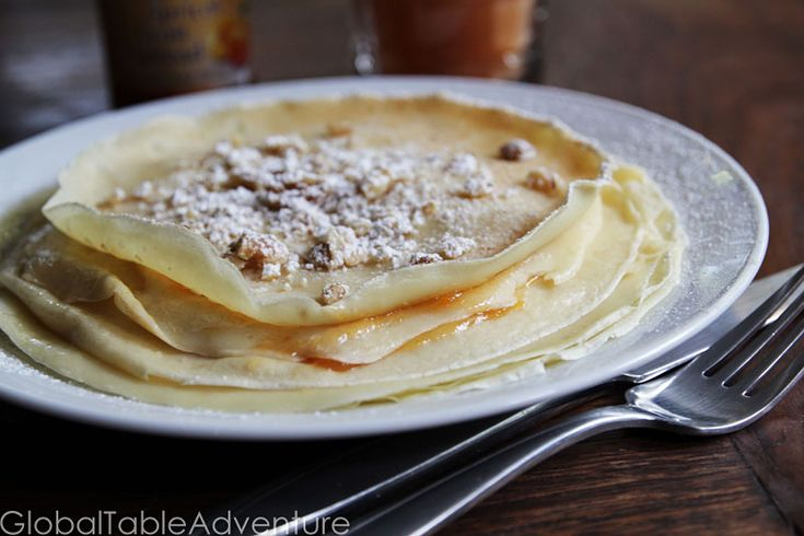 Palacsinta (Hungarian crêpes) | Recipe