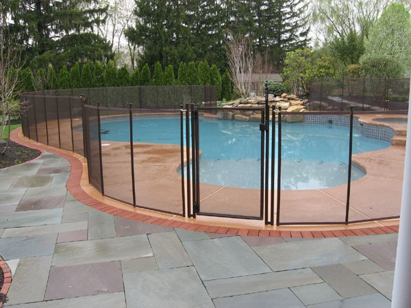 Removable Pool Fences Around The Pool Pinterest
