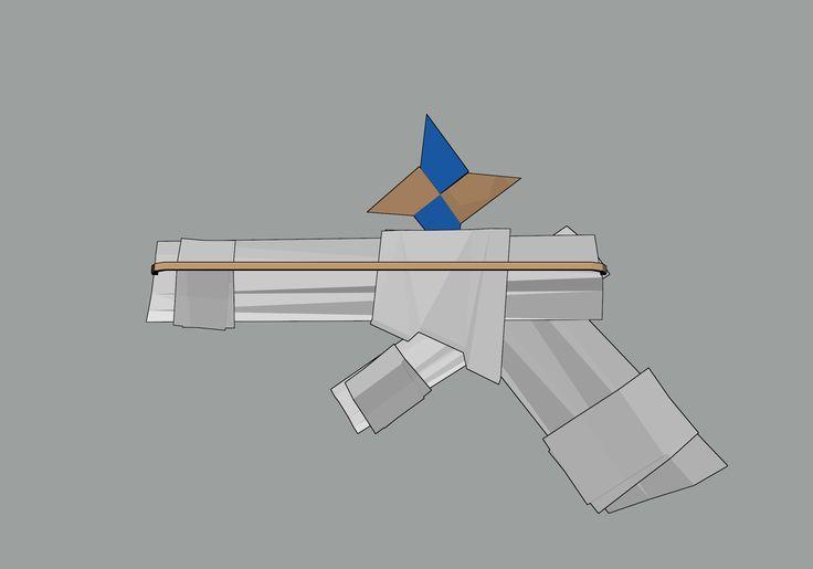 paper shuriken