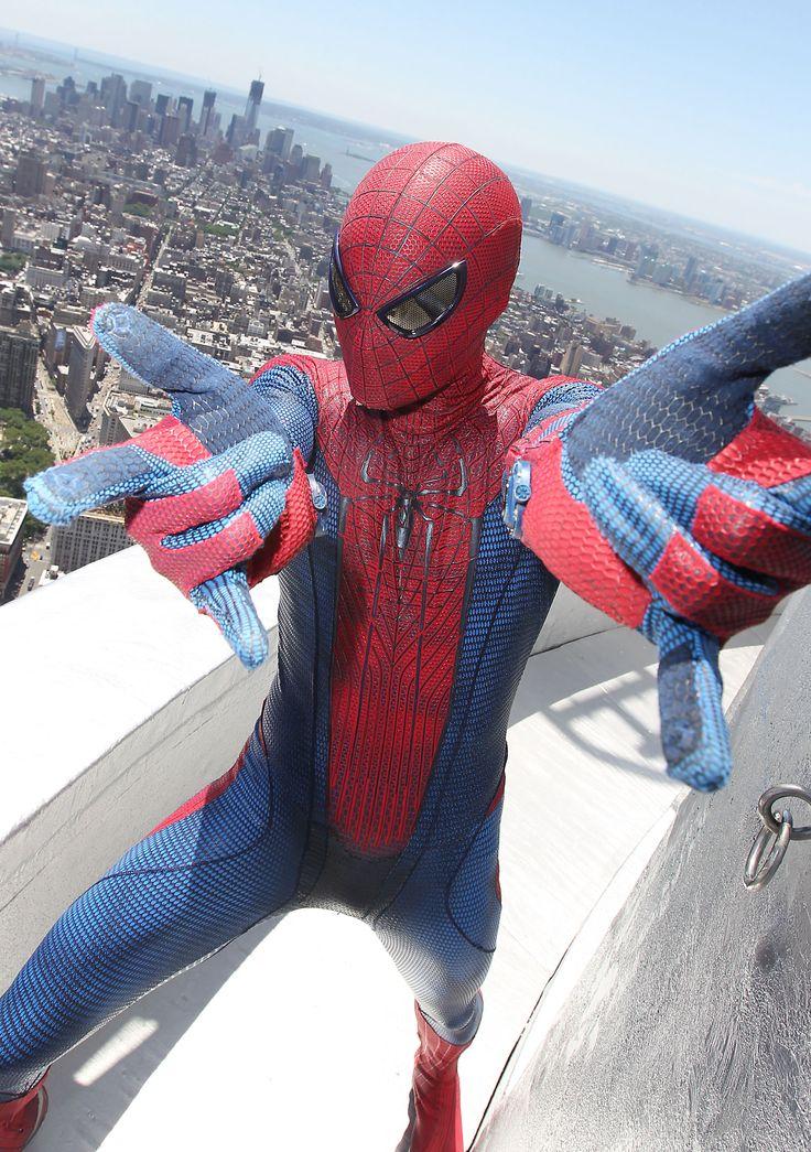 Green spiderman costume