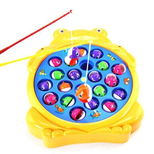 I had one magnetic fish game childhood pinterest for Fishing fishing games