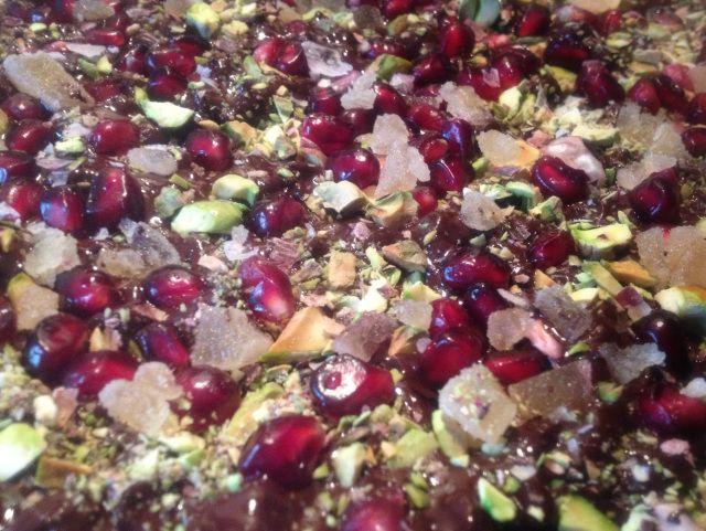 Chocolate-Pomegranate-Ginger Bark Recipes — Dishmaps