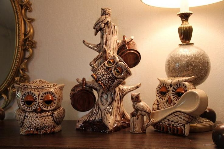 vintage owl kitchen set decor ideas kitchen pinterest