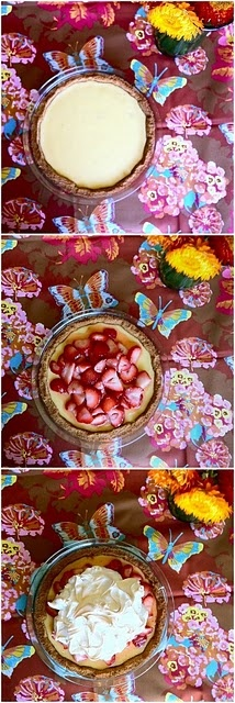 strawberry lemonade icebox pie | Sweets | Pinterest