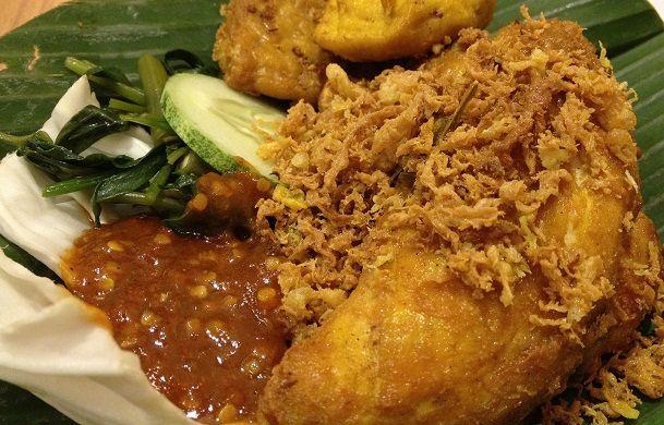 resep ayam penyet goreng enak indonesian food pinterest