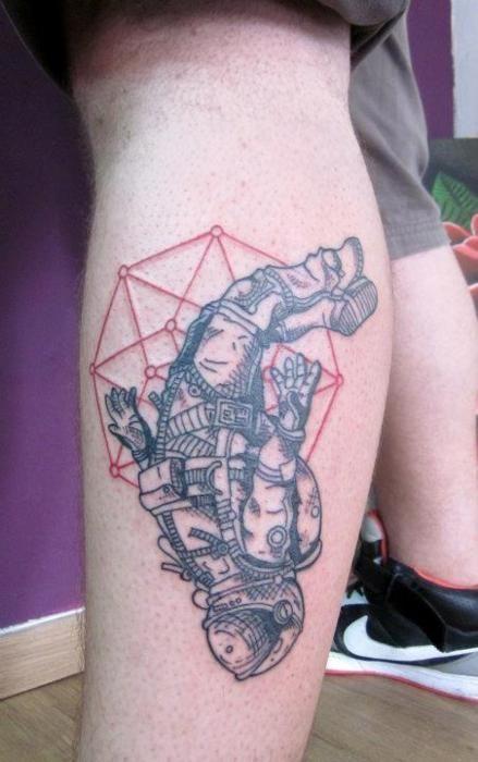 astronaut tattoo tumblr - photo #14