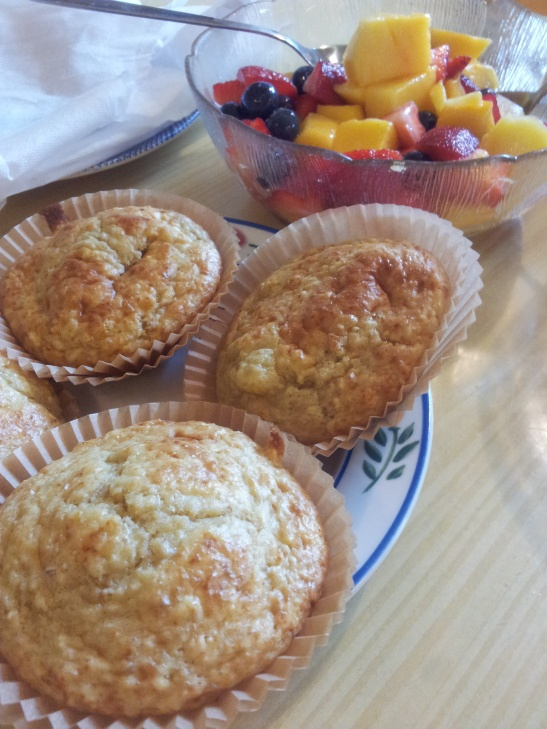 Oatmeal muffins- I made the following changes - used honey instead of ...