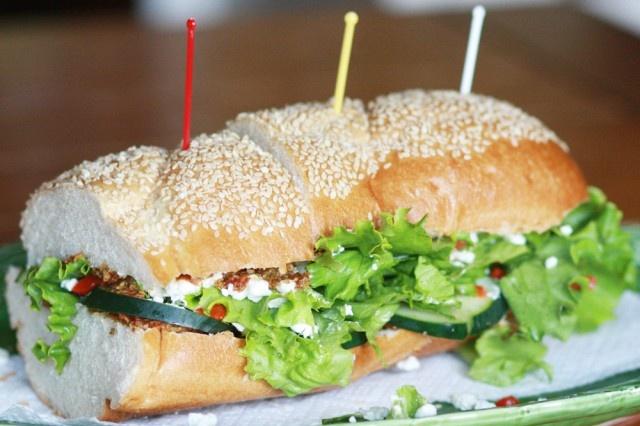 veggie sandwich | Vegetarian Meal Ideas | Pinterest