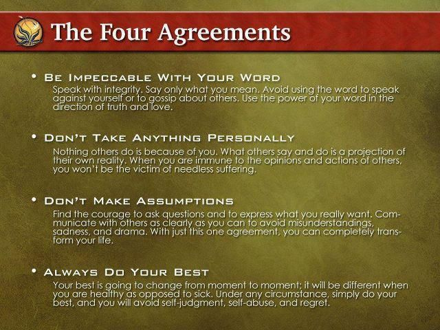 The Four Agreements Health And Motivation