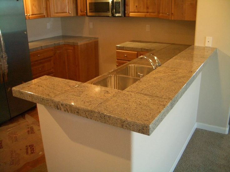 12 ceramic tile kitchen countertop stone tile and for Kitchen ideas with porcelain countertops