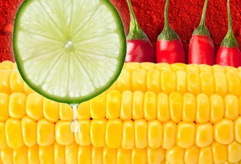 Corn, lime, and chili.   Recipe Box: Sides   Pinterest
