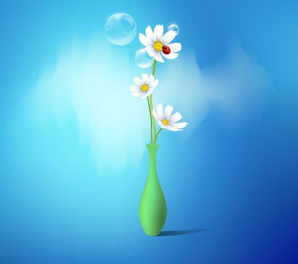 Spring Flowers Vase   Photoshop/Photography Training   Pinterest
