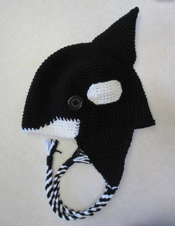 killer whale beanie