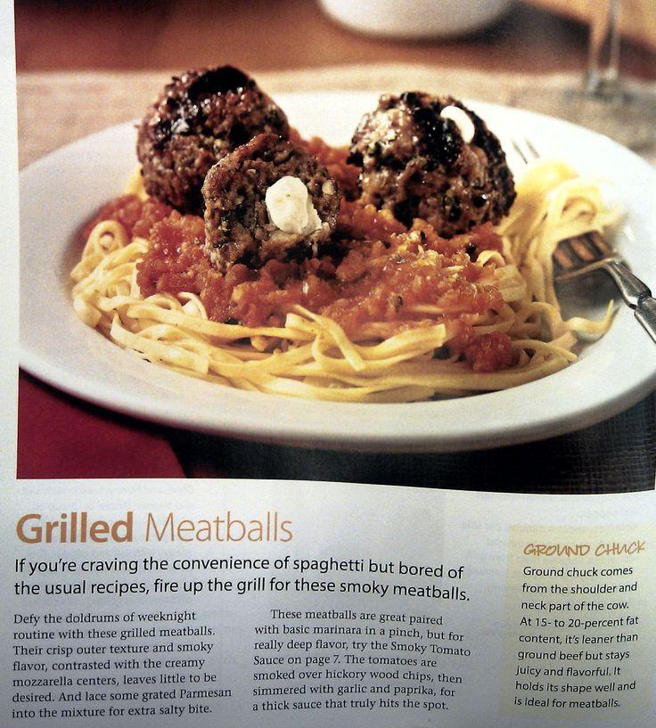 Grilled Meatballs 1 | Pinkrain Recipes | Pinterest