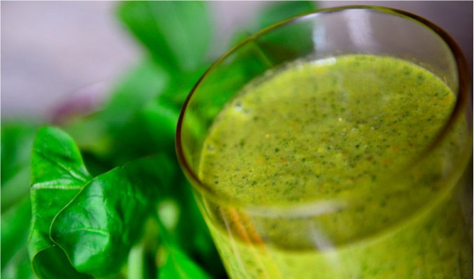 FittaMamma's Super Spinach Smoothie | Food & Drink | Pinterest
