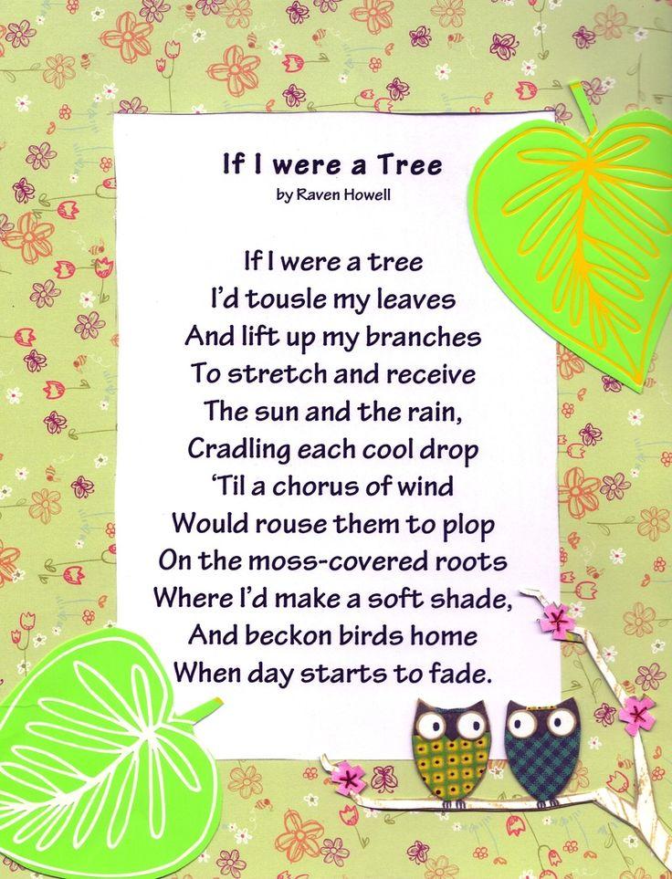 christmas tree poem kindergarten