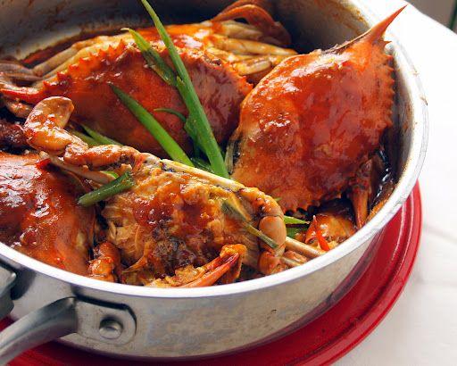 Singaporean Chili Crabs ala Nangnang