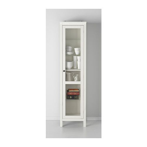 Ikea Värde Unterschrank Maße ~ HEMNES Glass door cabinet IKEA $250  Things I love  Pinterest