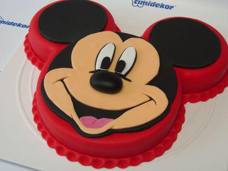 mickey mouse non fondant cakes