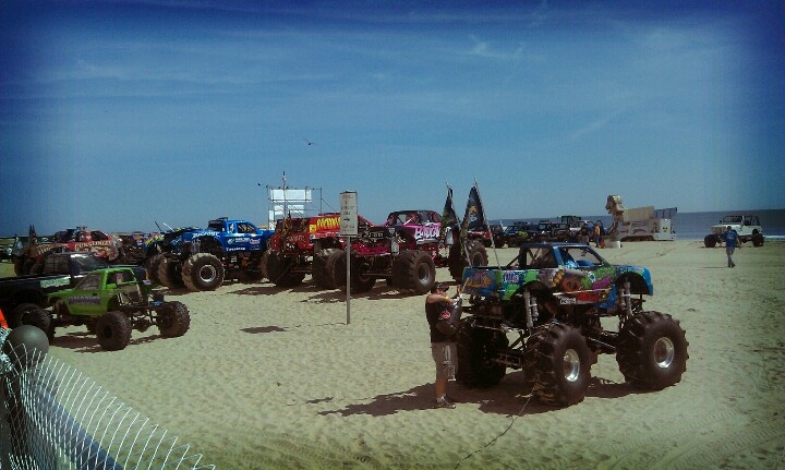 Monsters on the Beach, Virginia Beach...want to go this year so bad ...