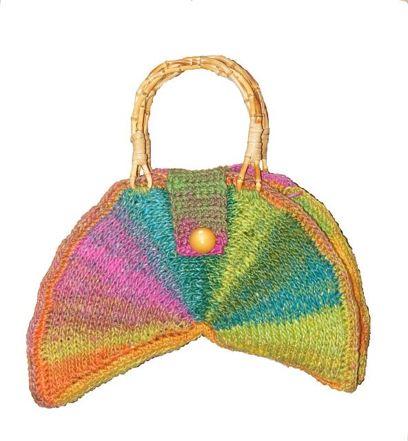 Tunisian Crochet Patterns Bags : Ravelry: Color Wheel Bag (Tunisian) pattern by Kim Guzman