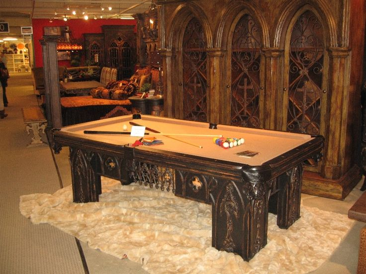 Luxury | Pool Tables & Poker Tables♥♥ | Pinterest: pinterest.com/pin/456974693412944554