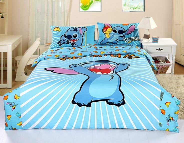 Lilo And Stitch Queen Bed Set