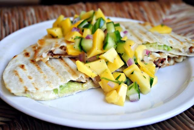 Kiwi, Mango, And Cucumber Salsa With Lime And Jalapeno Recipes ...