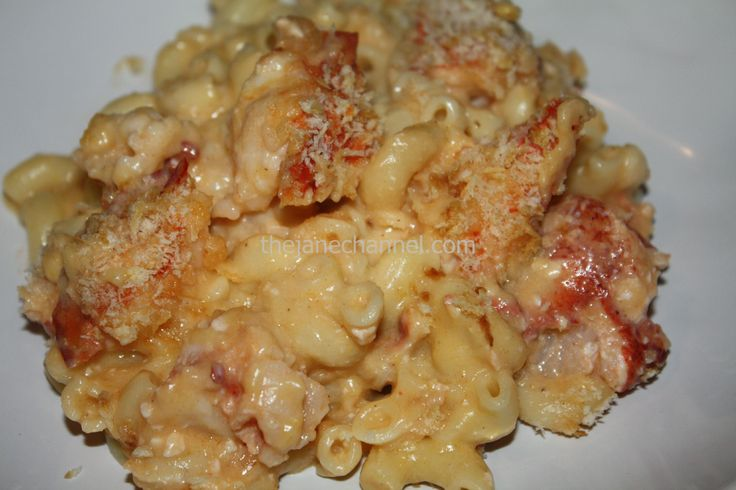 Lobster Mac and Cheese | .kissthecook. | Pinterest