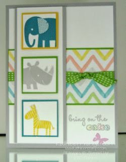 KathleenStamps: Stampin' Up! Zoo Babies stamp set