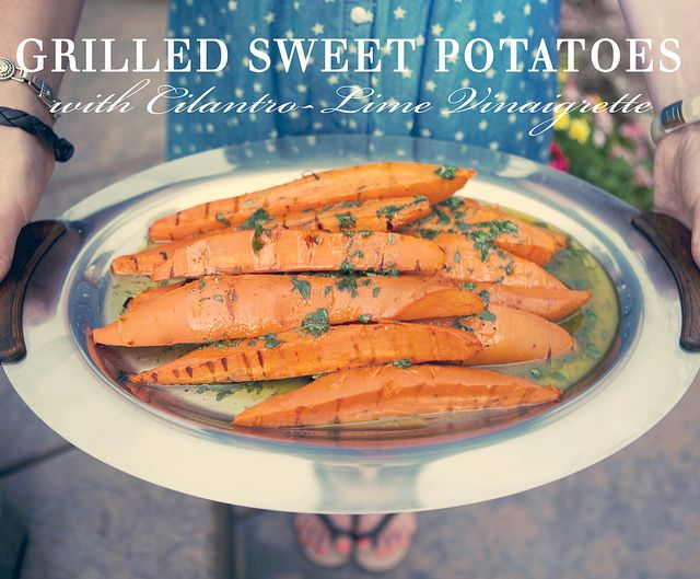 Grilled Sweet Potatoes with Cilantro-Lime Vinaigrette by ...