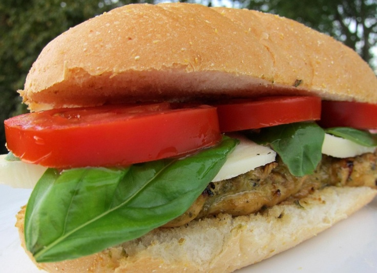 Italian Grilled Chicken Sandwiches | ⧟≓⧟ Grilling ...