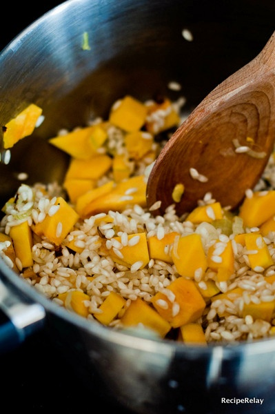 Butternut and Lancashire Cheese Risotto | Food | Pinterest